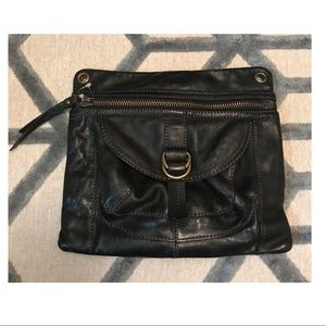 FOSSIL large leather clutch